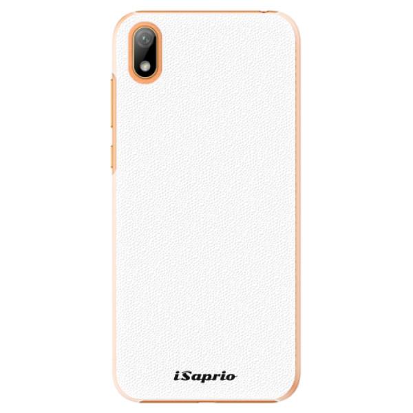 Plastové pouzdro iSaprio - 4Pure - bílý - Huawei Y5 2019