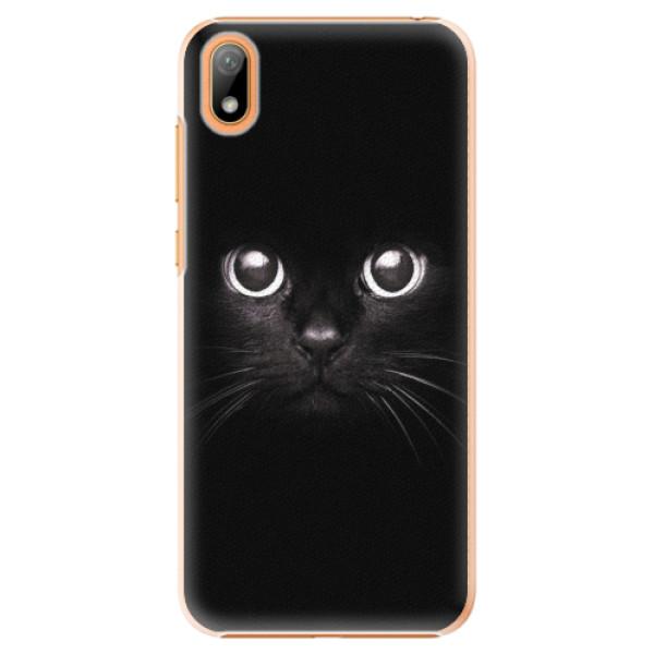 Plastové pouzdro iSaprio - Black Cat - Huawei Y5 2019