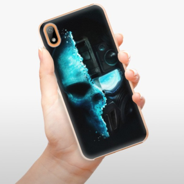 Plastové pouzdro iSaprio - Roboskull - Huawei Y5 2019