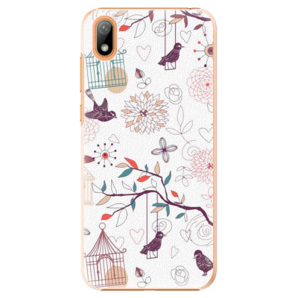 Plastové pouzdro iSaprio - Birds - Huawei Y5 2019