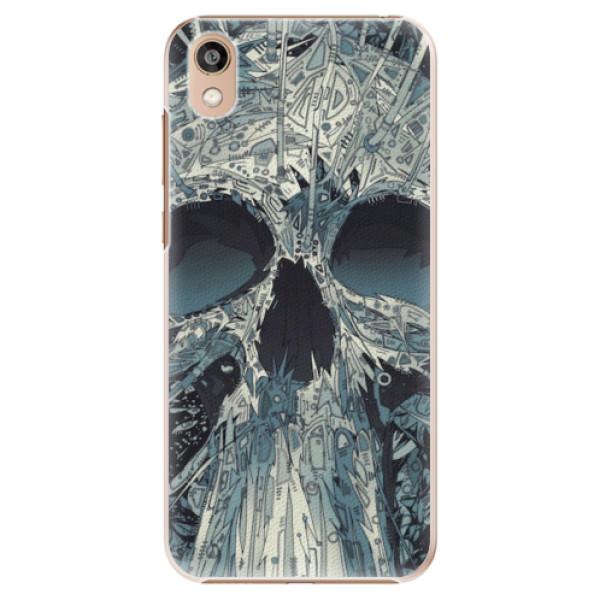Plastové pouzdro iSaprio - Abstract Skull - Huawei Honor 8S