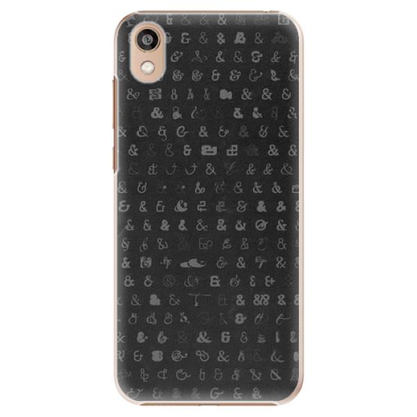 Plastové pouzdro iSaprio - Ampersand 01 - Huawei Honor 8S