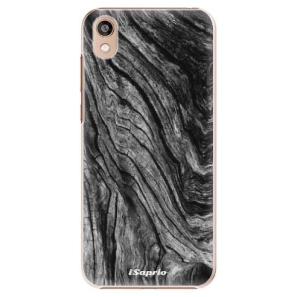 Plastové pouzdro iSaprio - Burned Wood - Huawei Honor 8S