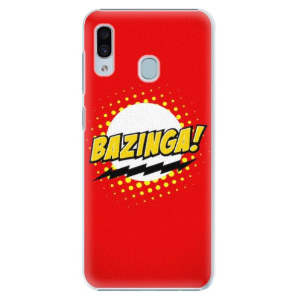Plastové pouzdro iSaprio - Bazinga 01 - Samsung Galaxy A20