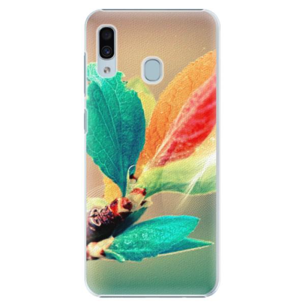 Plastové pouzdro iSaprio - Autumn 02 - Samsung Galaxy A20