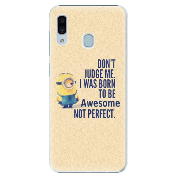 Plastové pouzdro iSaprio - Be Awesome - Samsung Galaxy A20