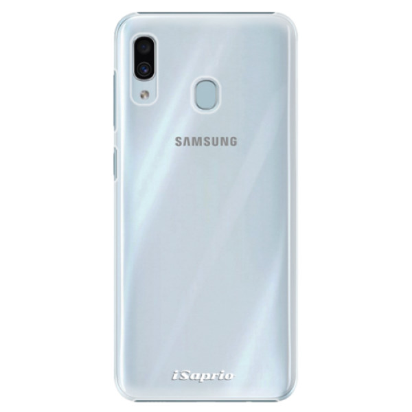 Plastové pouzdro iSaprio - 4Pure - mléčný bez potisku - Samsung Galaxy A20