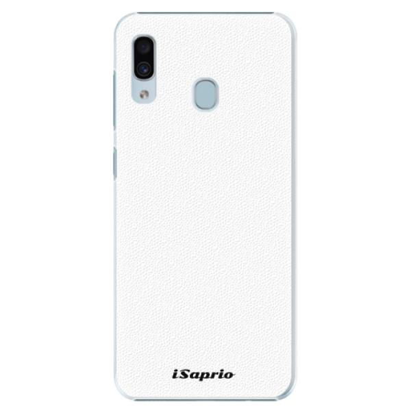 Plastové pouzdro iSaprio - 4Pure - bílý - Samsung Galaxy A20