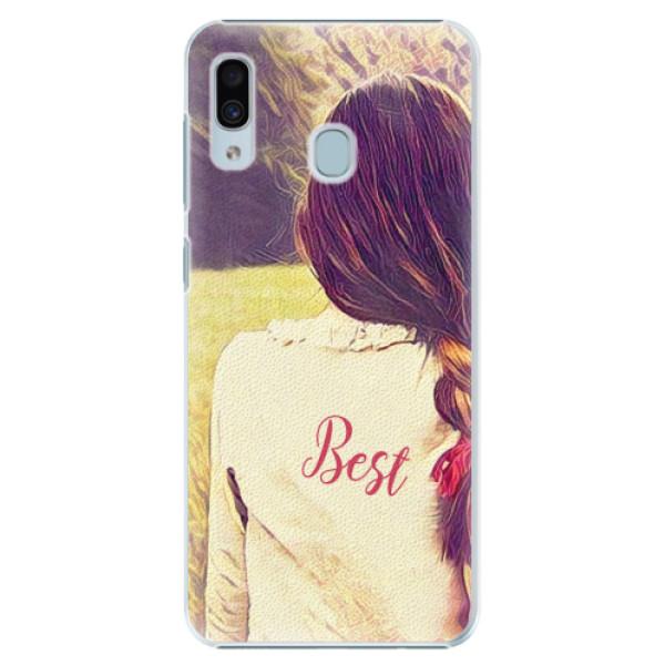 Plastové pouzdro iSaprio - BF Best - Samsung Galaxy A20