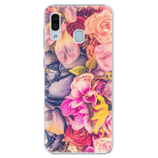 Plastové pouzdro iSaprio - Beauty Flowers - Samsung Galaxy A20