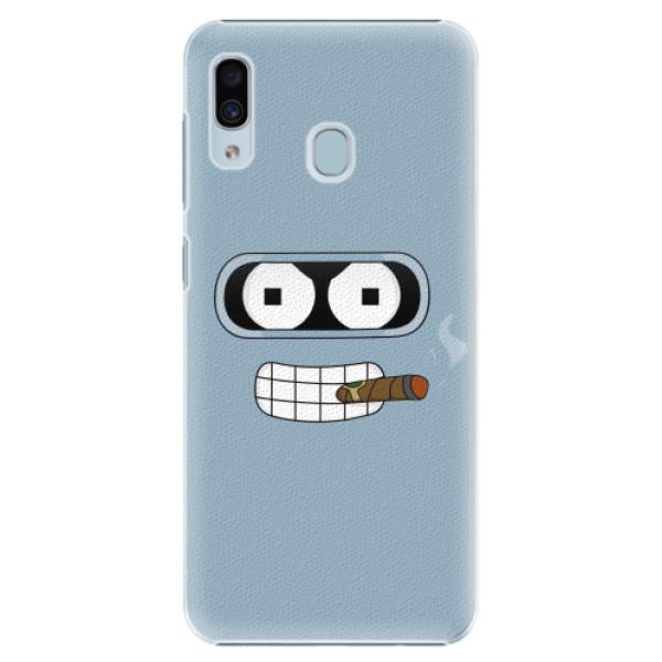 Plastové pouzdro iSaprio - Bender - Samsung Galaxy A20