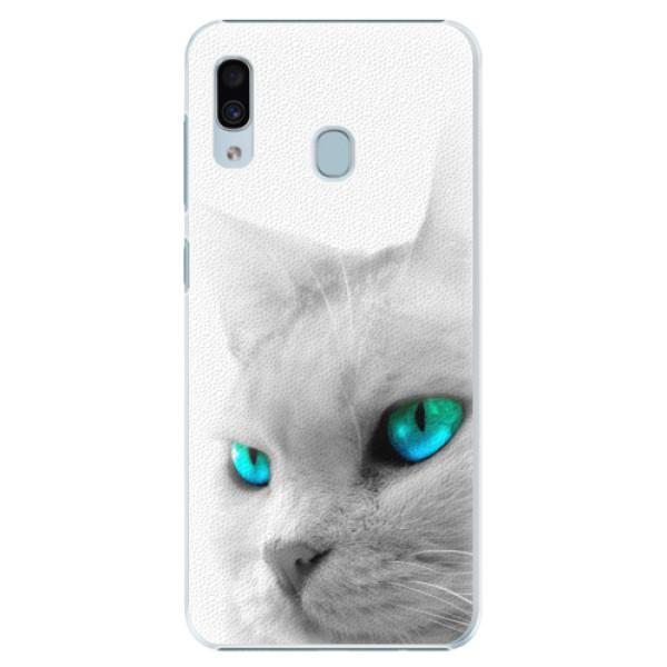 Plastové pouzdro iSaprio - Cats Eyes - Samsung Galaxy A20