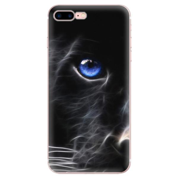 Odolné silikonové pouzdro iSaprio - Black Puma - iPhone 7 Plus