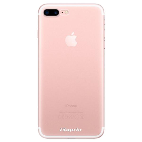 Odolné silikonové pouzdro iSaprio - 4Pure - mléčný bez potisku - iPhone 7 Plus