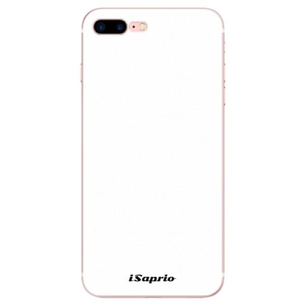 Odolné silikonové pouzdro iSaprio - 4Pure - bílý - iPhone 7 Plus
