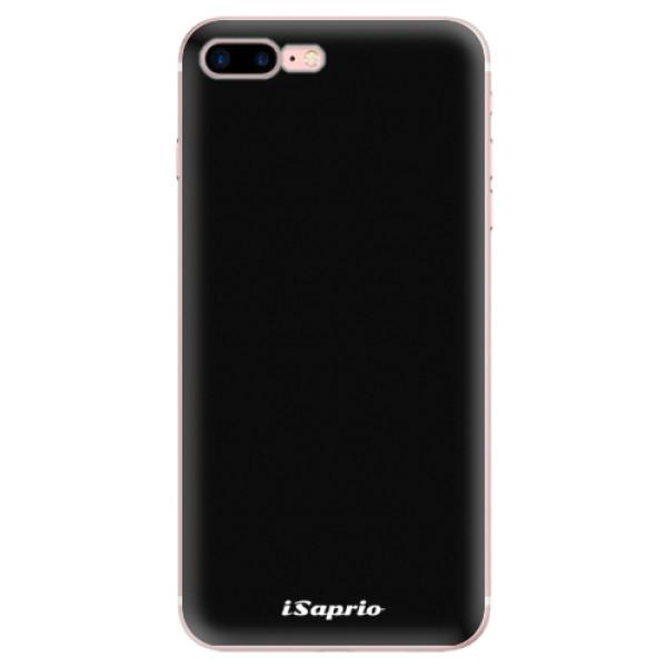 Odolné silikonové pouzdro iSaprio - 4Pure - černý - iPhone 7 Plus