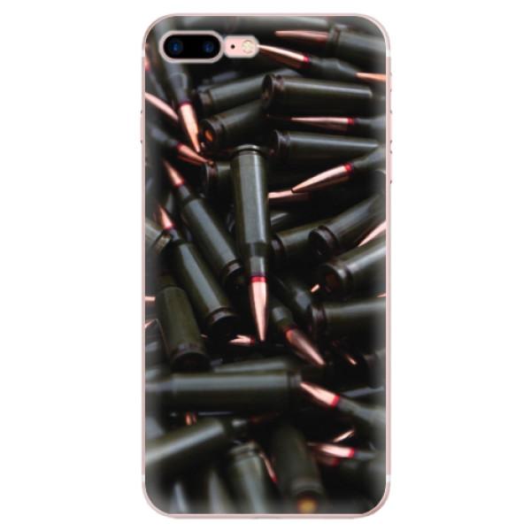 Odolné silikonové pouzdro iSaprio - Black Bullet - iPhone 7 Plus