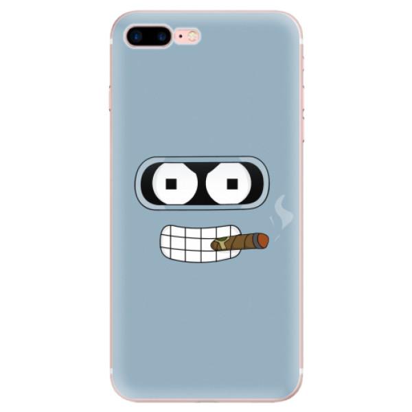 Odolné silikonové pouzdro iSaprio - Bender - iPhone 7 Plus