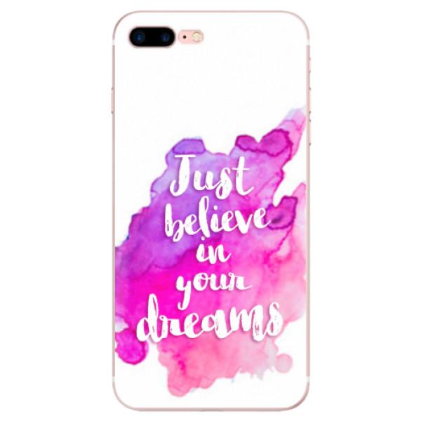 Odolné silikonové pouzdro iSaprio - Believe - iPhone 7 Plus