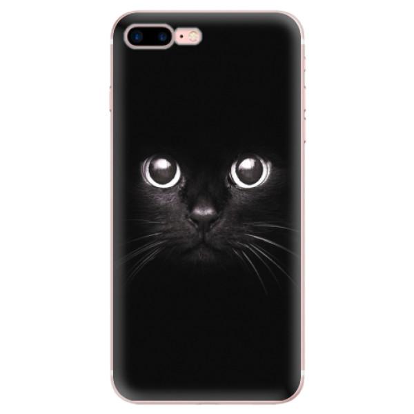 Odolné silikonové pouzdro iSaprio - Black Cat - iPhone 7 Plus