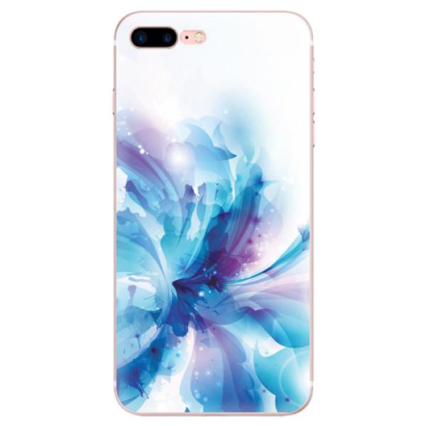 Odolné silikonové pouzdro iSaprio - Abstract Flower - iPhone 7 Plus