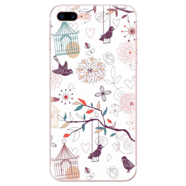 Odolné silikonové pouzdro iSaprio - Birds - iPhone 7 Plus