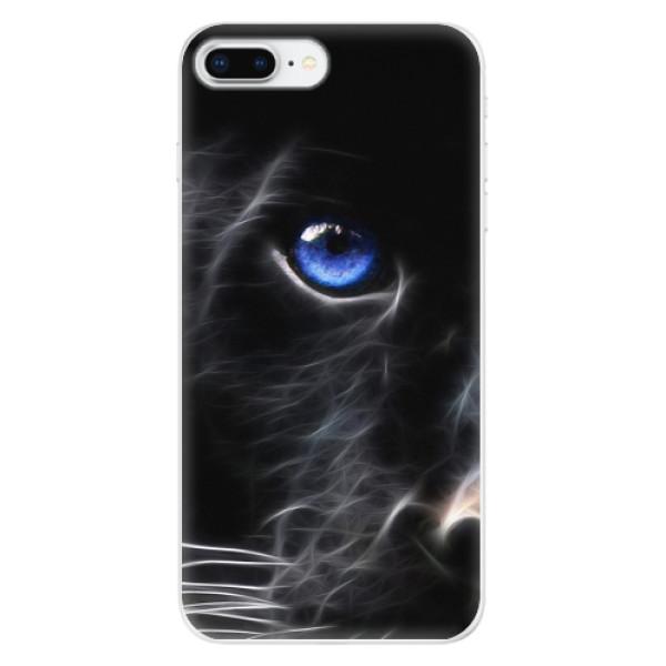 Odolné silikonové pouzdro iSaprio - Black Puma - iPhone 8 Plus