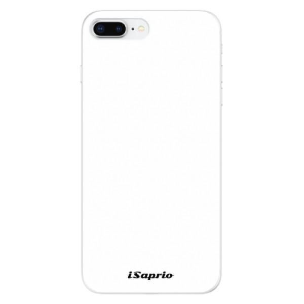 Odolné silikonové pouzdro iSaprio - 4Pure - bílý - iPhone 8 Plus