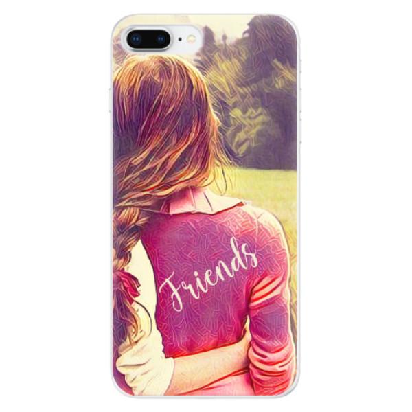 Odolné silikonové pouzdro iSaprio - BF Friends - iPhone 8 Plus