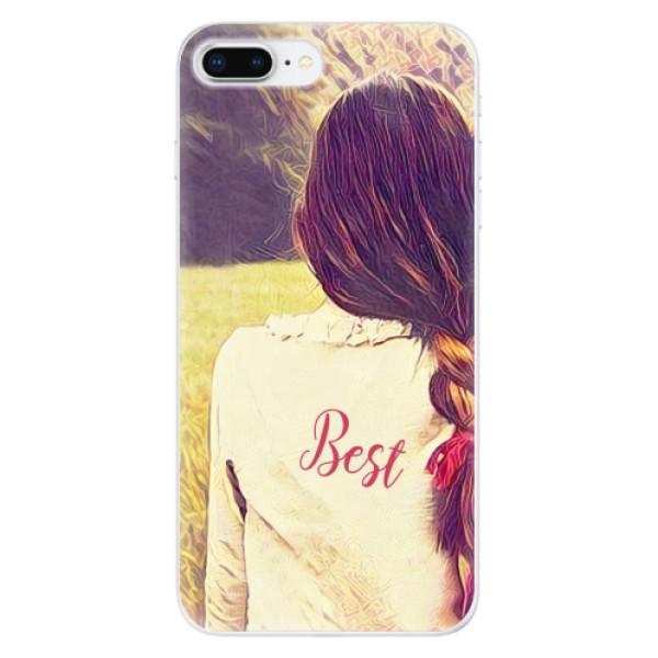 Odolné silikonové pouzdro iSaprio - BF Best - iPhone 8 Plus
