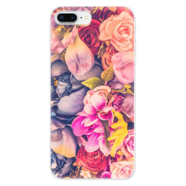 Odolné silikonové pouzdro iSaprio - Beauty Flowers - iPhone 8 Plus