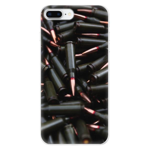 Odolné silikonové pouzdro iSaprio - Black Bullet - iPhone 8 Plus