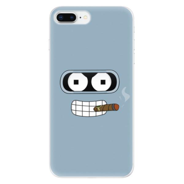 Odolné silikonové pouzdro iSaprio - Bender - iPhone 8 Plus