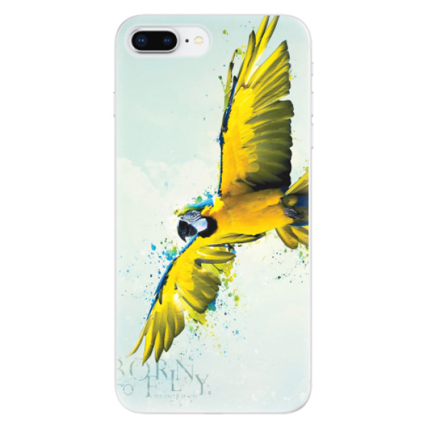 Odolné silikonové pouzdro iSaprio - Born to Fly - iPhone 8 Plus