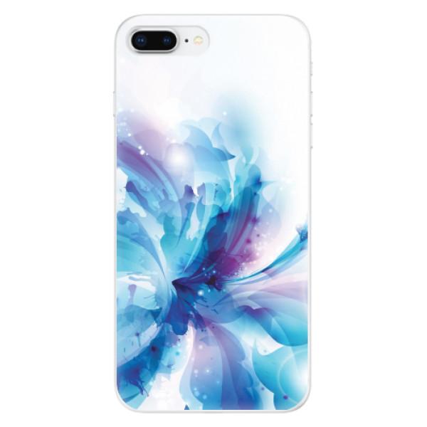 Odolné silikonové pouzdro iSaprio - Abstract Flower - iPhone 8 Plus