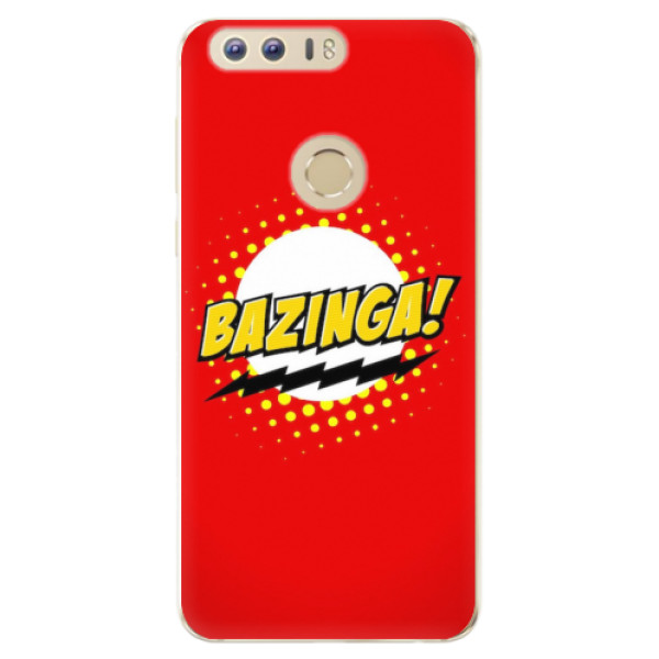 Odolné silikonové pouzdro iSaprio - Bazinga 01 - Huawei Honor 8