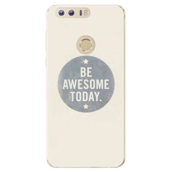 Odolné silikonové pouzdro iSaprio - Awesome 02 - Huawei Honor 8