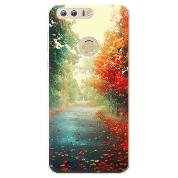 Odolné silikonové pouzdro iSaprio - Autumn 03 - Huawei Honor 8