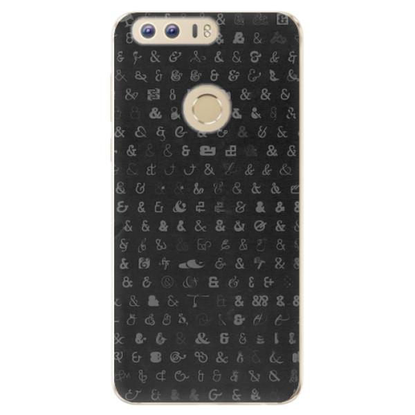 Odolné silikonové pouzdro iSaprio - Ampersand 01 - Huawei Honor 8