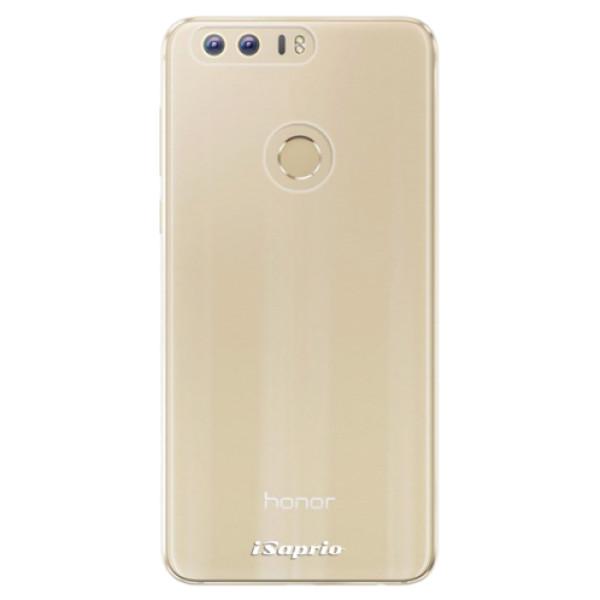 Odolné silikonové pouzdro iSaprio - 4Pure - mléčný bez potisku - Huawei Honor 8