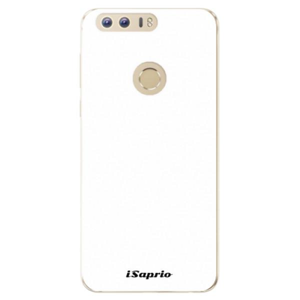 Odolné silikonové pouzdro iSaprio - 4Pure - bílý - Huawei Honor 8