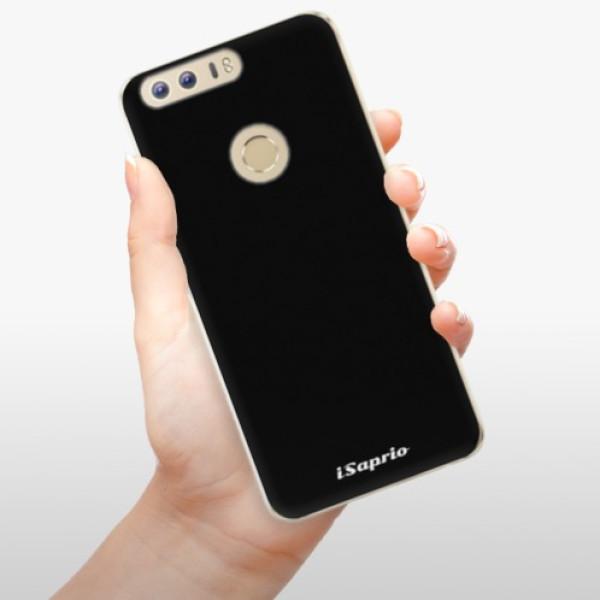 Odolné silikonové pouzdro iSaprio - 4Pure - černý - Huawei Honor 8