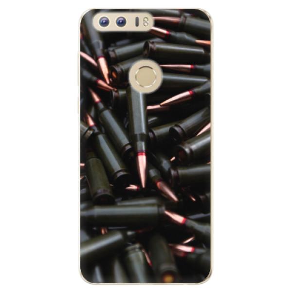 Odolné silikonové pouzdro iSaprio - Black Bullet - Huawei Honor 8