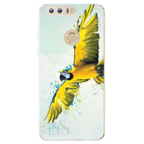Odolné silikonové pouzdro iSaprio - Born to Fly - Huawei Honor 8