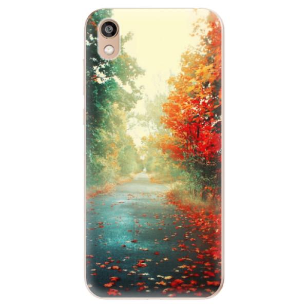 Odolné silikonové pouzdro iSaprio - Autumn 03 - Huawei Honor 8S