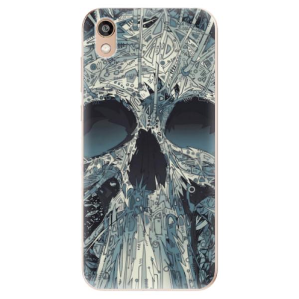 Odolné silikonové pouzdro iSaprio - Abstract Skull - Huawei Honor 8S