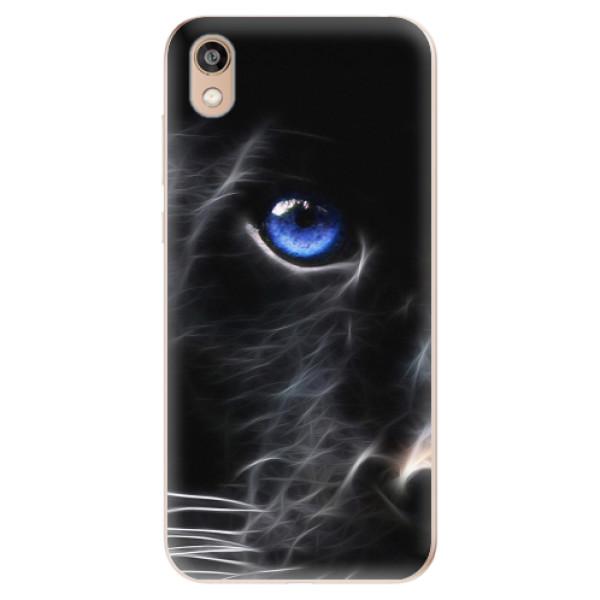Odolné silikonové pouzdro iSaprio - Black Puma - Huawei Honor 8S