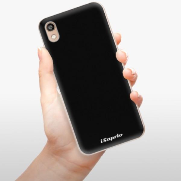 Odolné silikonové pouzdro iSaprio - 4Pure - černý - Huawei Honor 8S