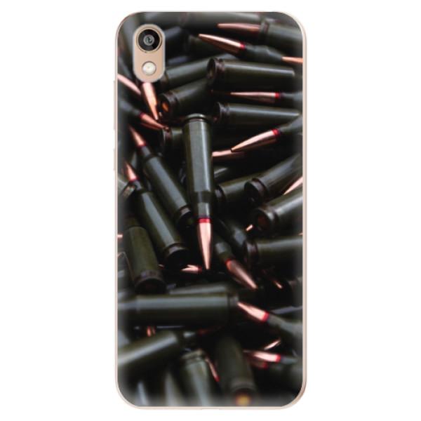 Odolné silikonové pouzdro iSaprio - Black Bullet - Huawei Honor 8S