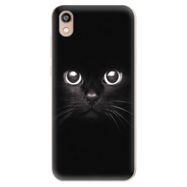 Odolné silikonové pouzdro iSaprio - Black Cat - Huawei Honor 8S